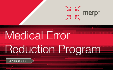 Medical Error Reduction Program